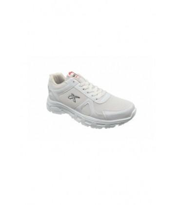 Scot Beyaz Renk Beyaz Taban Spor Sneaker Kadın Ayakkabı 2004