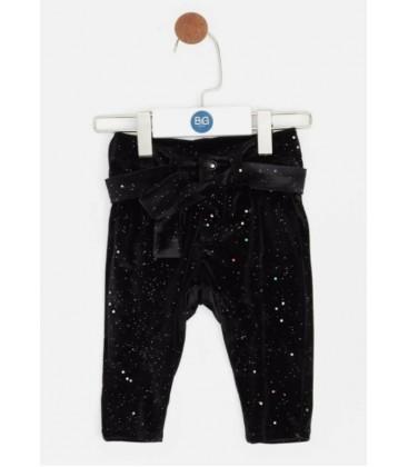 B&G Store Kız Bebek Siyah Pantolon 19FW0BG2233