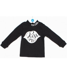 B&G Store Kız Bebek Siyah Body 19FW2BG2542