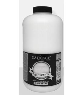 Cadence H001 Beyaz Multisurface Akrilik Boya 3KG