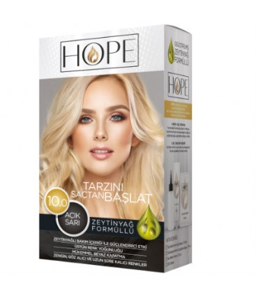 Hope Saç Boyası 10.0 Açık Sarı