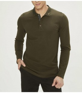 Xint Polo Yaka Pamuklu Slim Fit Tişört 501558