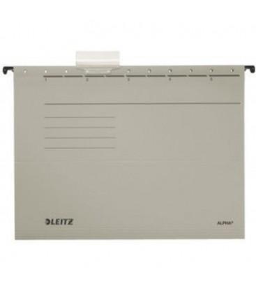 Leitz 6515-85 Delta Gri Telsiz Askılı Dosya 25'li Paket