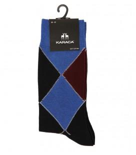 Çift Geyik Karaca Karaca Erkek Tek Soket Çorap - İndigo 116211032