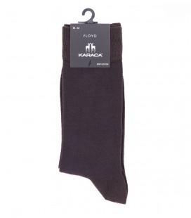 Çift Geyik Karaca Karaca Erkek Tek Soket Çorap - Kahve & Lacivert 116311018