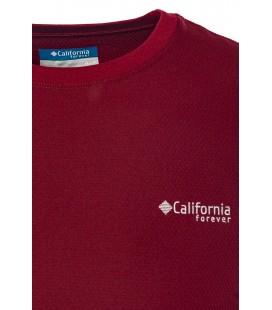 California Forever Erkek Bordo T-Shirt TS93011-8000