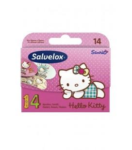 Salvelox Yara Bandı Hello Kitty Figürlü 14 Adet