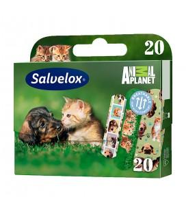 Salvelox Animal Planet Suya Dayanıklı Çocuk Yara Bandı 20'li