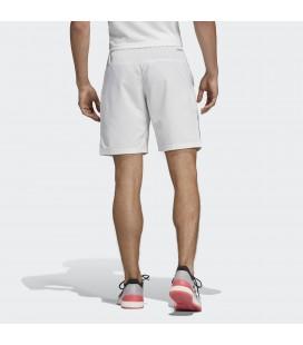 Adidas Erkek Club 9-İnch 3 Bantlı Beyaz Şort DP0302