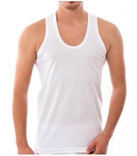 Seher Yıldızı Erkek Penye Askılı Atlet Beyaz 001
