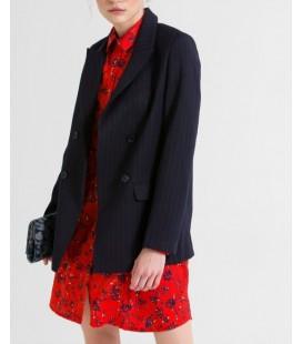 Ltb Femoni Kadın Lacivert Çizgili Ceket