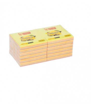 Mikro NT-751 Renkli Yapışkanlı Not Kağıdı 75 x 75 MM 12 Paket