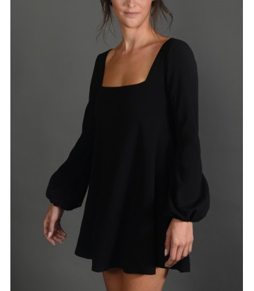 By Pink Freud Square Kadın Elbise Siyah