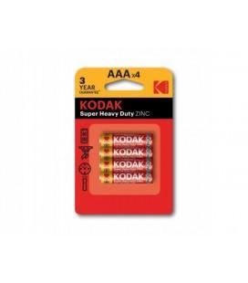 Kodak 4 Adet Süper Heavy Ducty İnce Pil 30953321