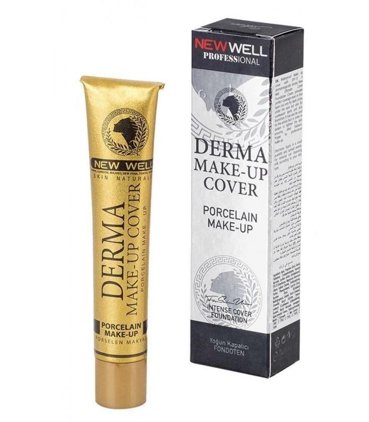 Derma Makeup Cover Porselen Fondöten