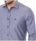 Karaca Erkek Gömlek Slim Fit Klasik  - Lacivert 616204013