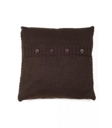 Yargıcı Home Koyu Kahverengi Yastık ( 45 X 45 Cm)