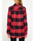 Koton Kadın Kırmızı  Kareli Gömlek - 8KAK63818OW01P