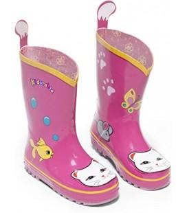 Lucky Cat Rain Boots for Kids Kız Çocuk Botu