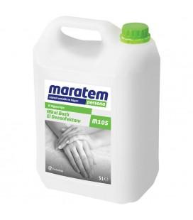 Eczacıbaşı Maratem M105 Alkol Bazlı El Dezenfektanı 5 Litre
