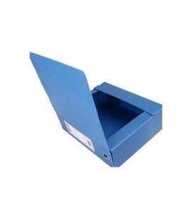 Mavi Kapaklı Lastikli Arşiv Kolisi 24 Cm. X 32 Cm. X 7cm.