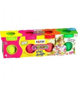 Fatih Oyun Hamuru 4 Renk
