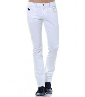 U.S.Polo Beyaz Jean Pantolon G081CS080 M52 Y3013 600 Denim Pantolon