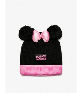 Koton Kız Çocuk Minnie Mouse İşlemeli Bere - Siyah 9KBG56033AA999