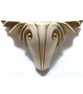 Mobilya Komidin Ayağı Plastik 12cm Gold Renk