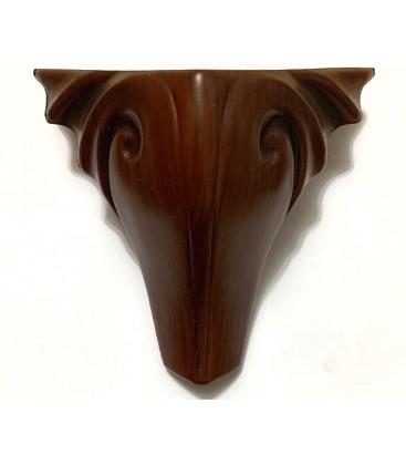 Mobilya Komidin Ayağı Plastik 15cm Kahverengi