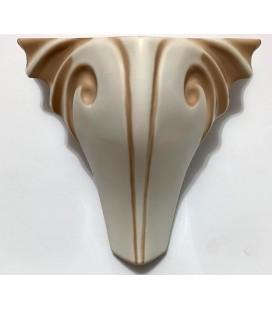 Mobilya Komidin Ayağı Plastik 15cm Krem