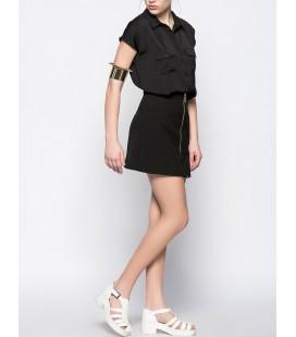 Koton Kadın Siyah Gömlek 5YAK63207TW999