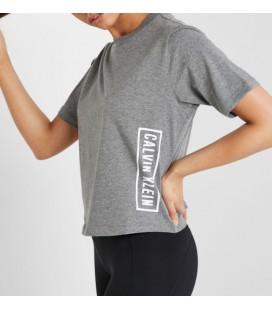 Calvin Klein Kadın Gri Tişört 00GWS9K103
