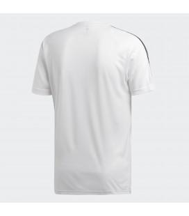 adidas D2M Tee 3S Erkek Beyaz Tişört DU1242