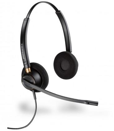 POLY EncorePro HW520 Kulaklık Saç bandı Siyah Headset