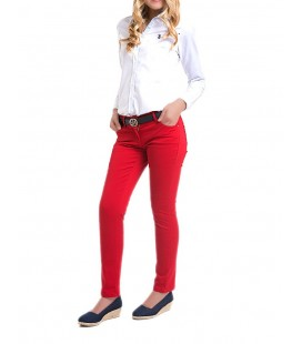 U.S. Polo Bayan Kırmızı Spor Pantolon