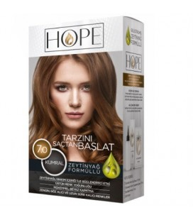 Hope Saç Kumral Saç Boyası 7.0