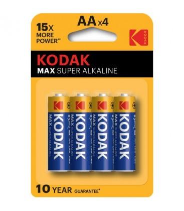 Kodak Max Alkalin Kalem Pil Aa 4 Lü
