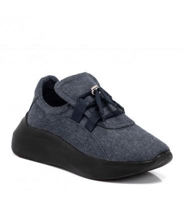 Tergan Lacivert Tekstil Kadın Ayakkabı K19S1AY64789
