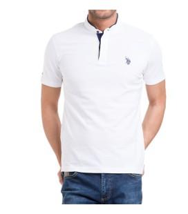 U.S. Polo Assn. Erkek Beyaz T-Shirt
