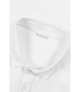 Bluemint Albert Erkek Beyaz Slim Fit Polo Yaka T-shirt