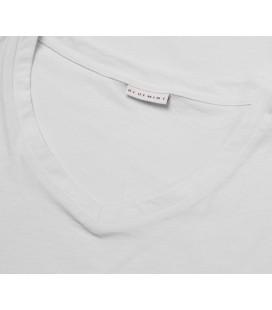 Bluemint Elvis V Yaka Erkek Beyaz Tişört
