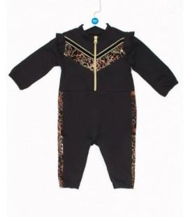 B&G Store Kız Bebek Siyah Tulum 19FW0BG2809