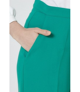 Armine  Pantalon Baggy Benetton Vert 9Y2756
