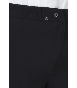 Armine Kuşgözü Detaylı Pantolon Siyah 9Y2703