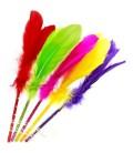 Tüylü Kurşun Kalem 20'li Farklı Renklerde