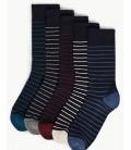 Marks&Spencer 5'li Cool & Fresh ™ Yastıklamalı Çorap