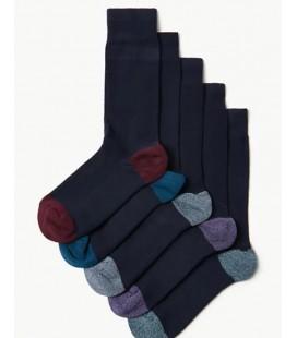 Marks&Spencer 5'li Cool & Freshfeet ™ Yastıklamalı Çorap T101314C