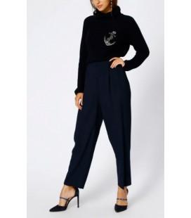 North Of Navy Kadın Boru Paça Lacivert Pantolon 5001629959