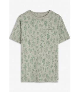 Gap Erkek Çocuk Desenli Kısa Kollu T-Shirt 550117